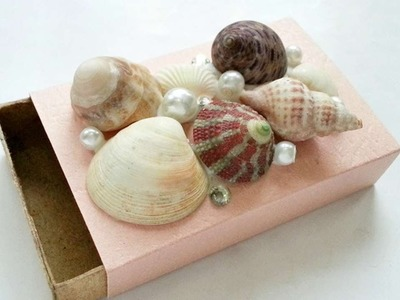 How To Create  A Sea Shell Decorated Gift Box - DIY Crafts Tutorial - Guidecentral