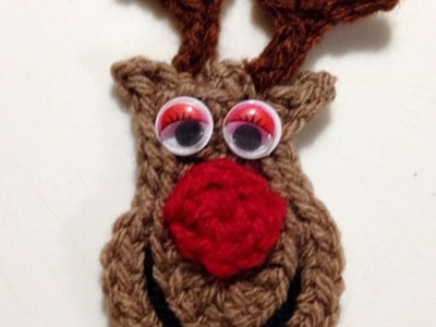 How To Crochet Rudolph The Red Nosed Reindeer - DIY Crafts Tutorial - Guidecentral