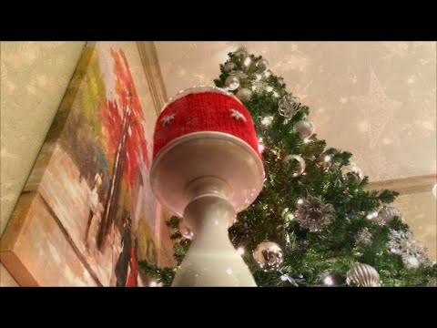 How To Decorate Your Holiday Candle, Lilu's Knitting Corner Video # 12