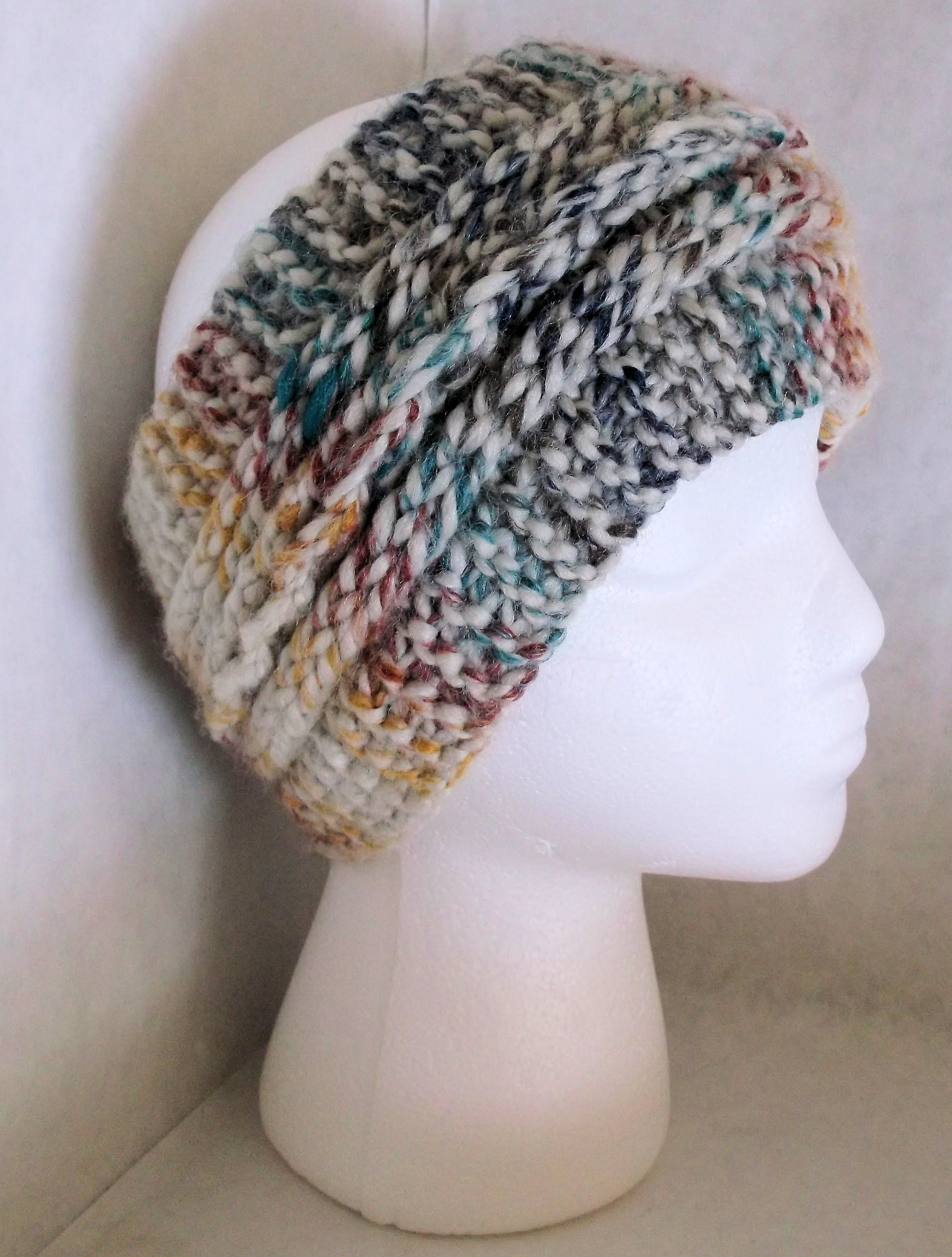 How to Loom Knit a Faux Braid (No Bind off or cast on)