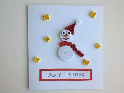 How To Make A Christmas Card With A Snowman - DIY Crafts Tutorial - Guidecentral