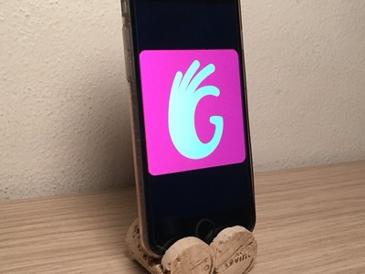 How To Make A Cool Phone Stand Using Two Wine Corks - DIY Technology Tutorial - Guidecentral