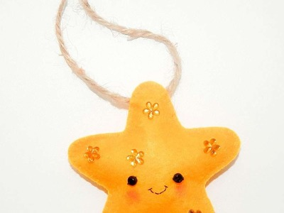 How To Make A Felt Christmas Toy Star - DIY Crafts Tutorial - Guidecentral
