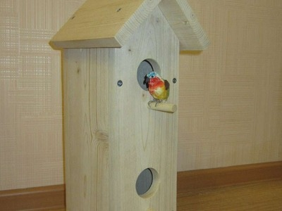 How To Make A Wooden Birdhouse - DIY Home Tutorial - Guidecentral