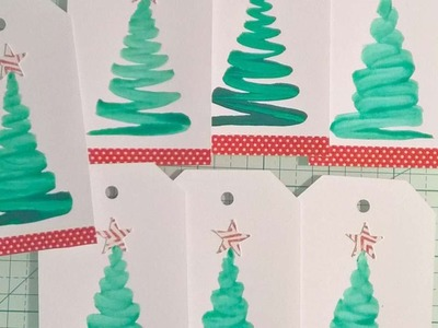 How To Make Watercolour Gift Tags - DIY Crafts Tutorial - Guidecentral