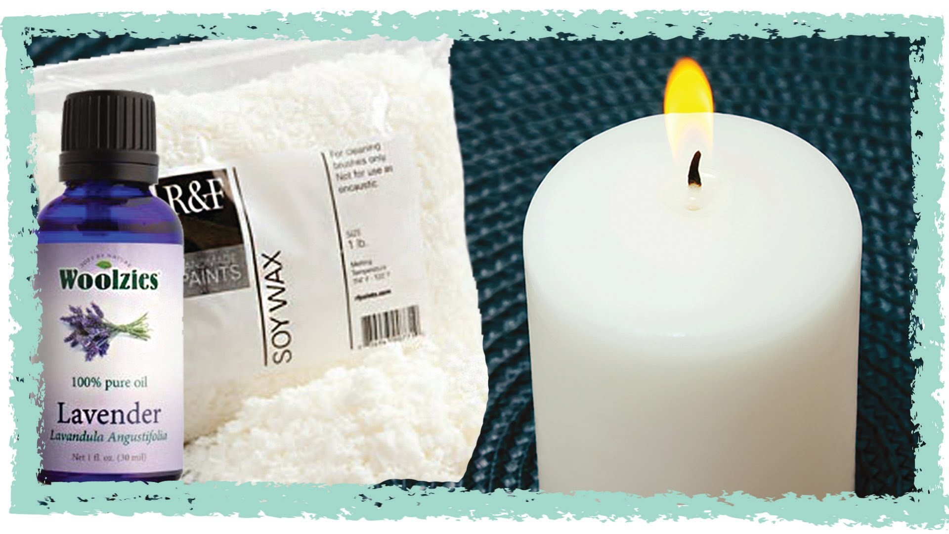 How To Make Your Own Candle - An Easy DIY Gift