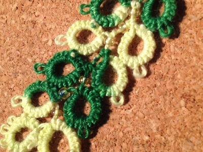 How To Making A Spikelet Tatting With Beads - DIY Crafts Tutorial - Guidecentral