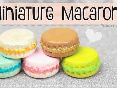 MINIATURE MACARON. DIY Mini Macarons from Bottle Caps. Trinket, Ornament, & Dollhouse Minis