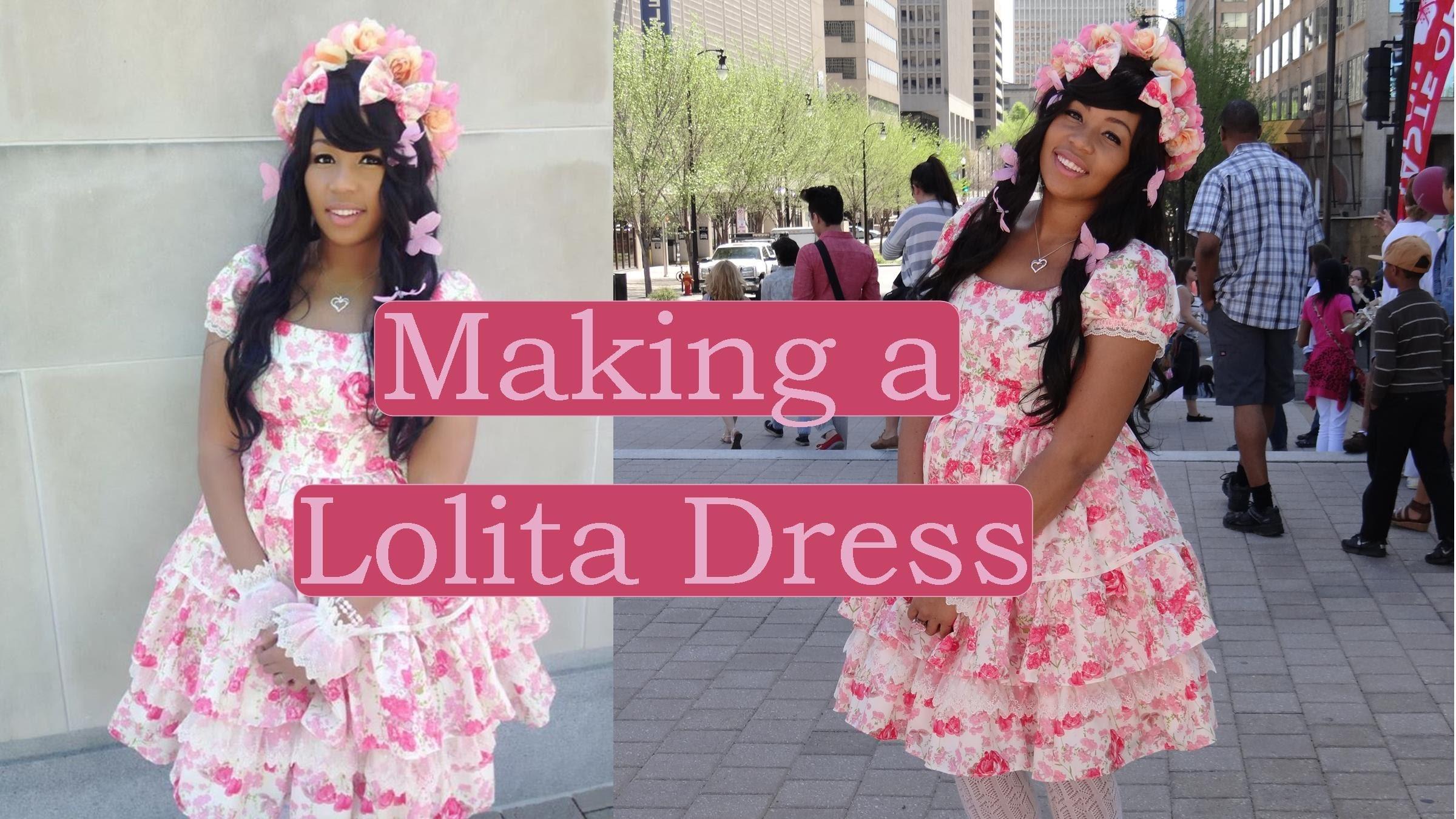 DIY (along): Lolita OP (dress)