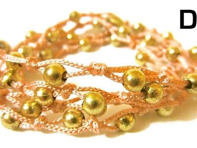 DIY Beaded Wrap Bracelet