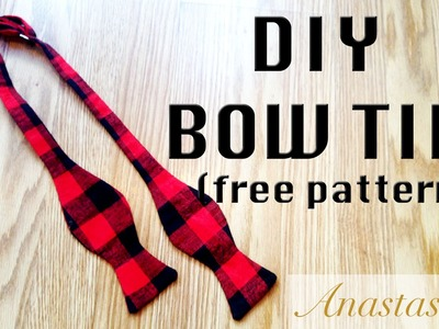 DIY Bow Tie PERFECT for a Holiday GIFT