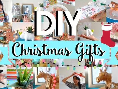 DIY Christmas Gifts! Easy and Affordable Ideas for Everyone