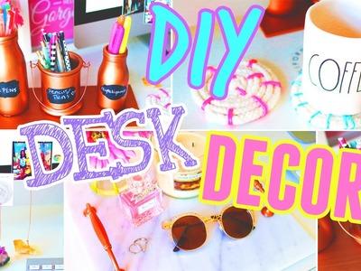 DIY Desk Decor & Organization!! 2015