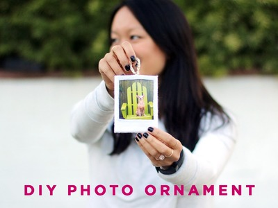 DIY Felt Photo Frame | Ornament Exchange