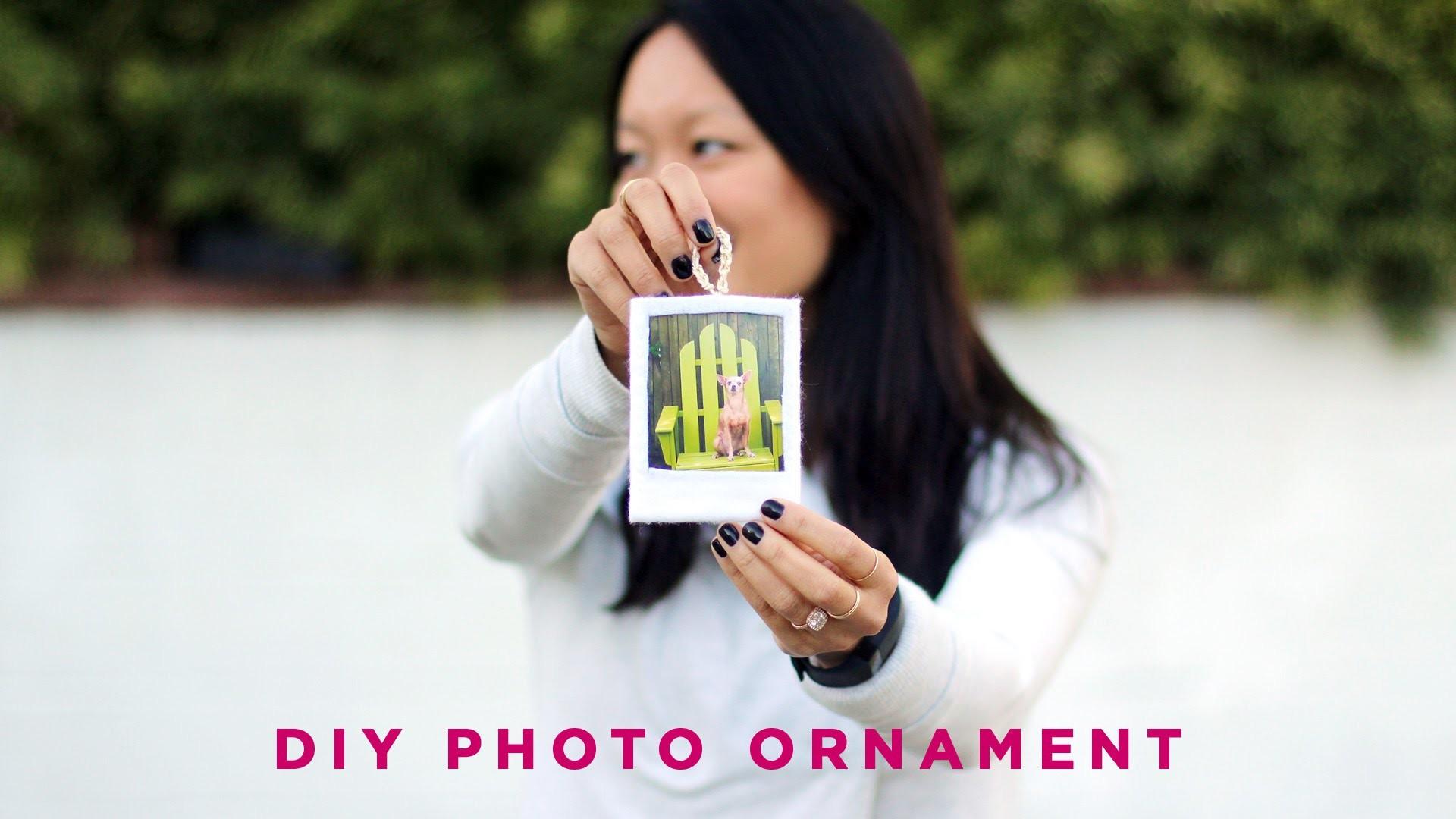 DIY Felt Photo Frame | Ornament Exchange