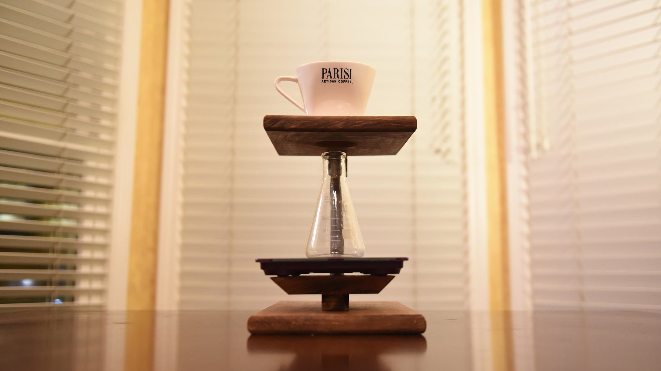 DIY: How To Make A Pour Over Coffee Stand