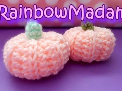 ★ DIY ★ Mini Crochet Pumpkin Tutorial