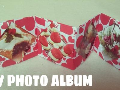 DIY - Origami Photo Album - Photo Album Ideas