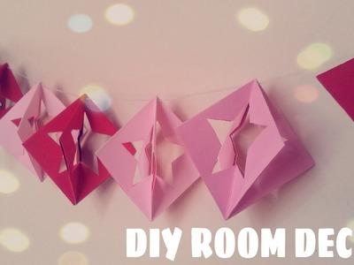 DIY Room Decor - Paper Star Ornament (Easy)