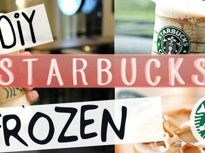 DIY Starbucks Frozen Hot Chocolate