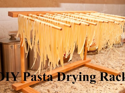Do It Yourself (DIY) Pasta Drying Rack Using Basic Hand Tools