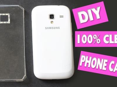 Easy DIY 100% Transparent Phone Case + Skins