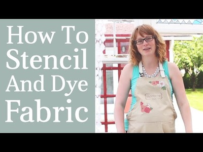 Fabric Painting with Chalk & Clay Based Paint | Basic DIY Techniques