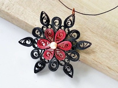 How To Create A Pretty Quilled Pendant - DIY Crafts Tutorial - Guidecentral