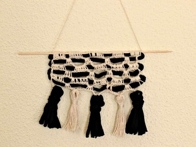 How To Crochet A Beautiful Wall Hanging - DIY Crafts Tutorial - Guidecentral