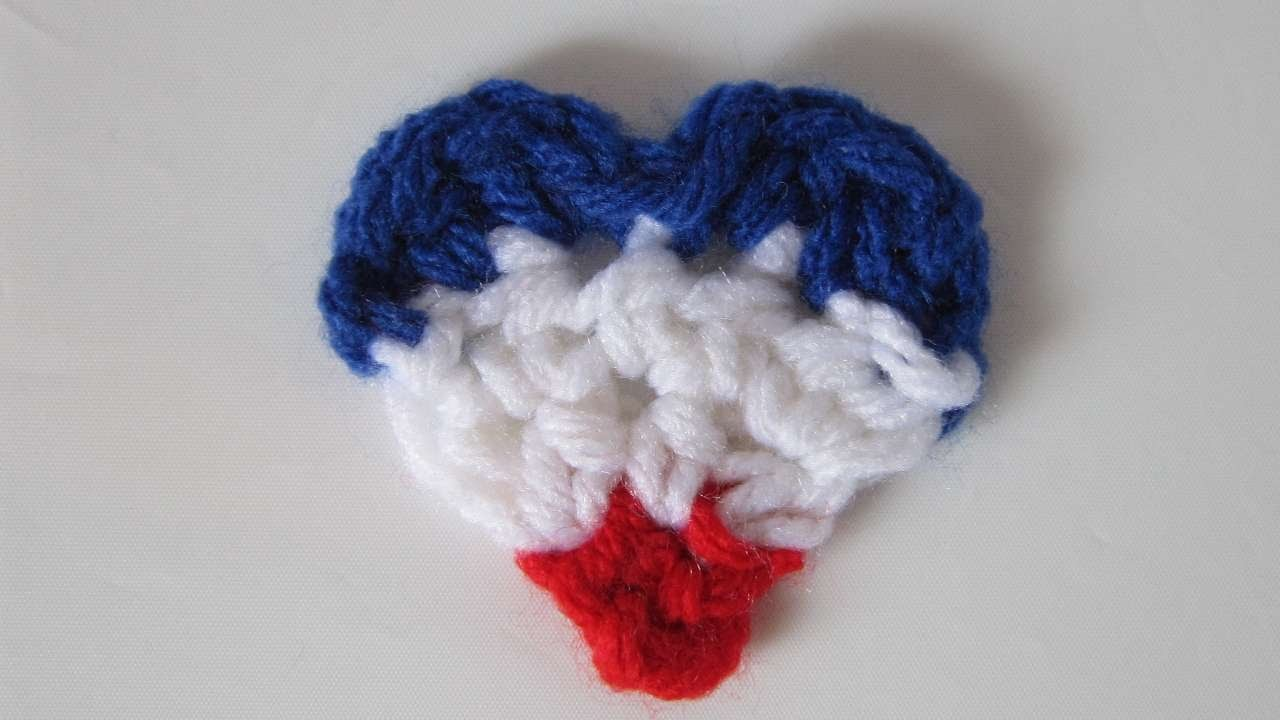 How To Crochet A Heart For Paris - DIY Crafts Tutorial - Guidecentral