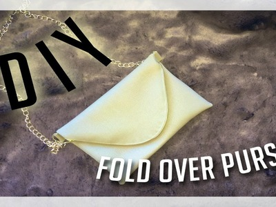 How To.DIY: Fold Over Purse