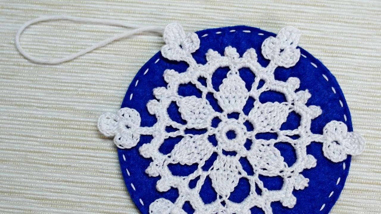 How To Make A Cute Snowflake Ball - DIY Crafts Tutorial - Guidecentral