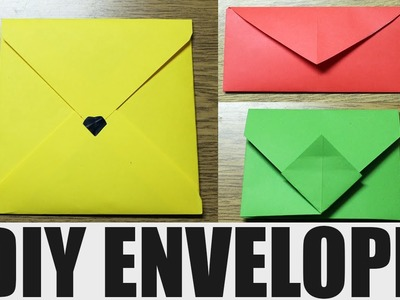 How to make an envelope - DIY paper envelope
