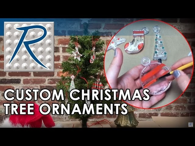How To Make DIY Clear Resin Christmas Ornaments