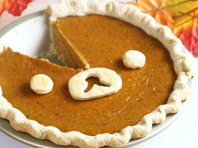 How to Make Rilakkuma Pumpkin Pie!
