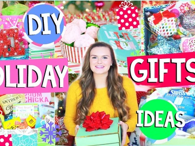 Last Minute DIY Christmas Gifts People Actually Want! + HUGE HOLIDAY GIVEAWAY!! | Jessica Reid