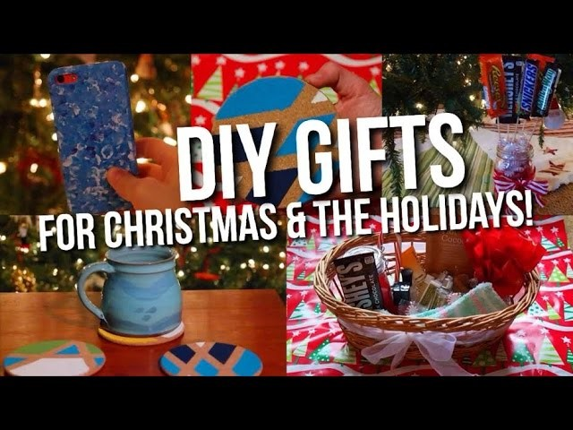 Last Minute DIY Gifts For Christmas & The Holidays!