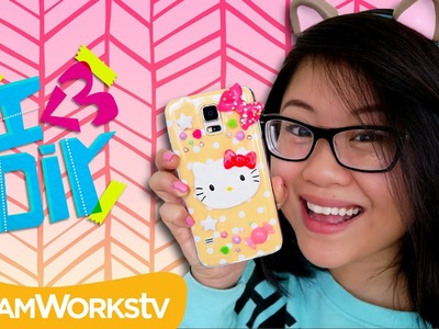 Neon Hello Kitty Phone Case with Coolricebunnies | I ♥ DIY