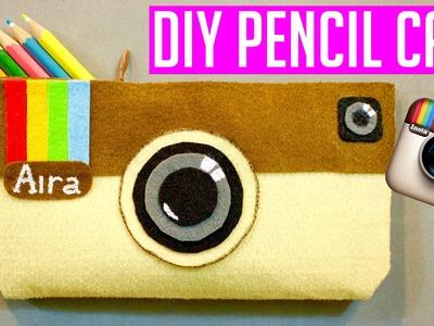NO-SEW INSTAGRAM PENCIL CASE & MAKEUP BAG | DIY School Supplies EASY