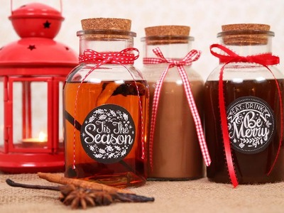 3 Homemade Holiday Liqueurs | Made with Love