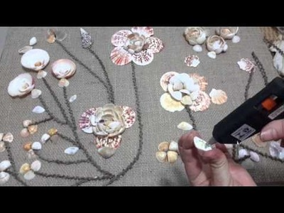 Artesanato  com conchas  do mar  - parte 2