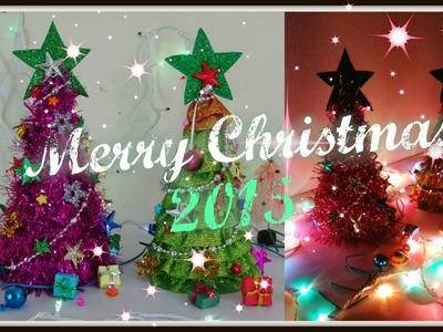Christmas tree 2015 part - 1 table top diy