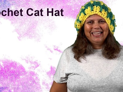 Crochet Cat Hat - How to Make Part 2