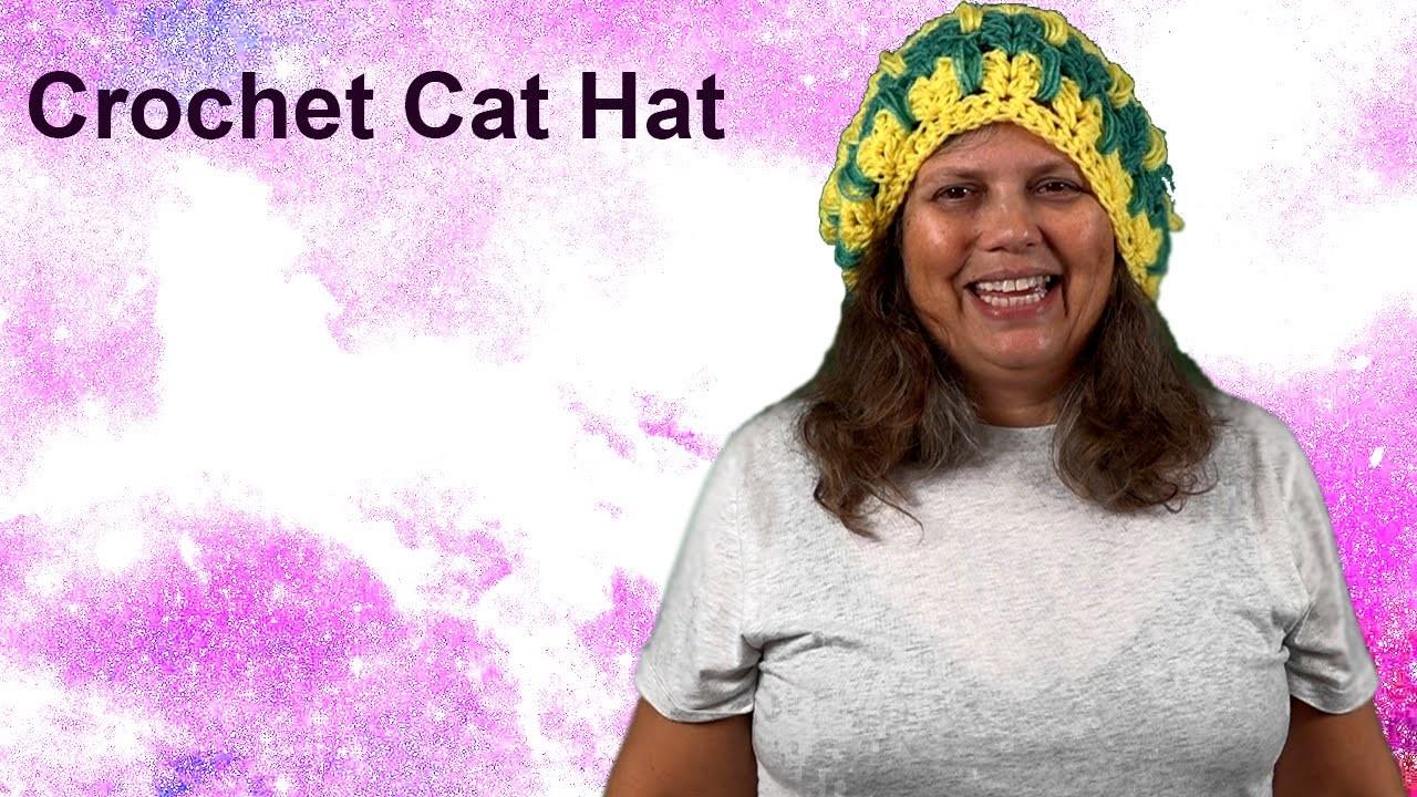 Crochet Cat Hat - How to Make Part 2