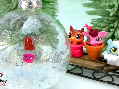 DIY Christmas Ornaments - LPS, Shopkins, Trash Pack Gross Gang, Fingerprint Reindeer and more!