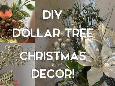 DIY Dollar Tree Christmas Decor | 7 Ideas for the Holidays!