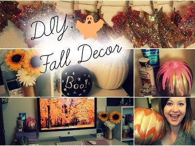 DIY Fall Room Decor ♡ Easy & Affordable!
