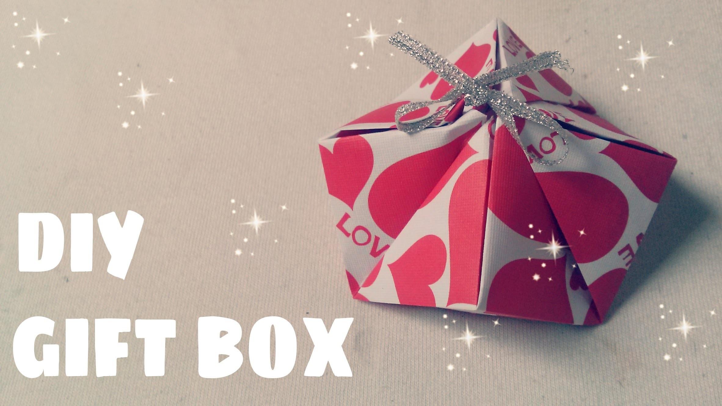 DIY - Gift Box Handmade