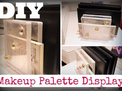 DIY || Make-up Palette Display ♡
