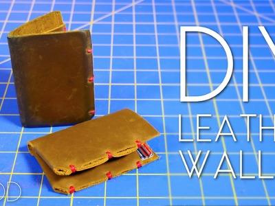 DIY Minimalist Leather Wallet – Mini MOD #42